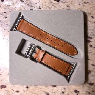 Apple Watch 38mm 真皮錶帶 Genuine Leather 38mm Apple Watch Band