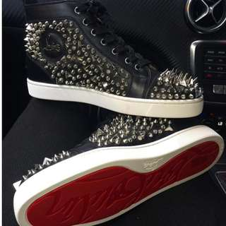 ChristianLouboutin spike shoes