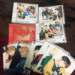 BTS JAPAN Album MIC DROP / CRYSTAL SNOW / DNA