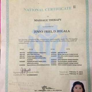 Freelance Massage Therapy On Call