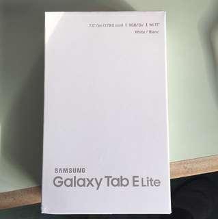 BRAND NEW Galaxy Tab E Lite