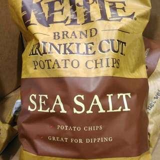 🚚 科克蘭 海鹽調味薯片Kirkland Signature Sea Salt Potato Chips