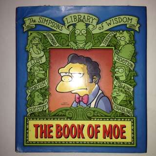 The Simpsons The Book of Moe