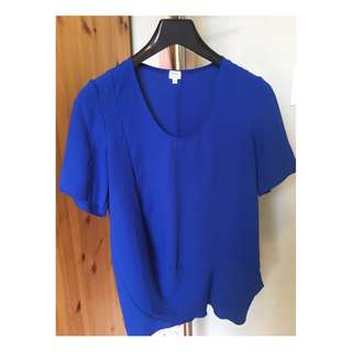 Aritzia Wilfred Drapey Tee (Size Small)