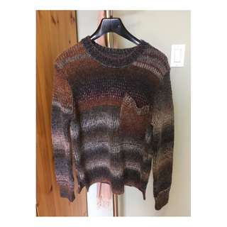 Roots Marled Sweater (Size M)