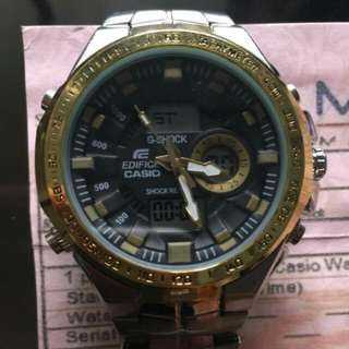 Authentic casio edifice g-shock from japan