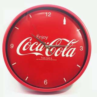 可口可樂時鐘Coca Cola Wall Clock