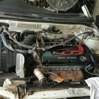 Engine mivec complit wiring tiada gearbox