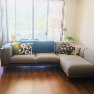 IKEA 3 Seater Sofa/Lounge - Beige
