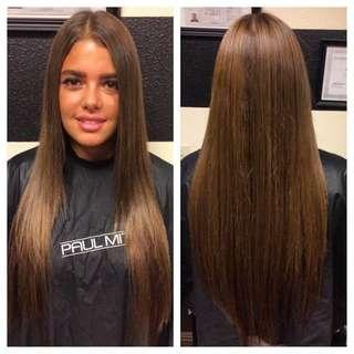 Hair extensions full head $299