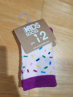 New cotton on Baby Sock