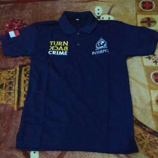 Polo shirt turn back crime
