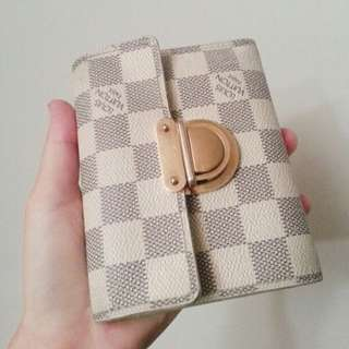 Louis Vuitton Koala Wallet in Damier