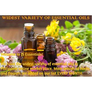 Pure Essential Oils for Air Humidifier Diffuser, Cosmetics and Others