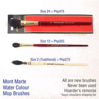 Mont Mart Paint Mop Brush