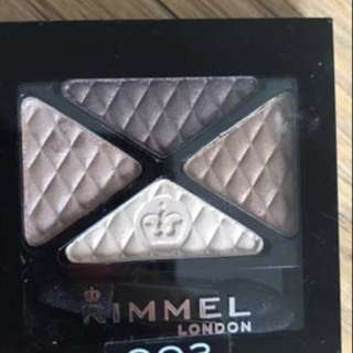 Rimmel eyeshadow $8each