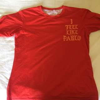 Red Pablo long sleeve shirt