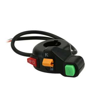 "Integrated Headlights/Horn/Turn Signals Switch for 7/8"" Handlebar"