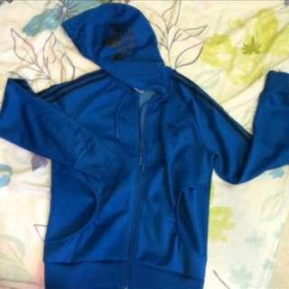 adidas藍色外套