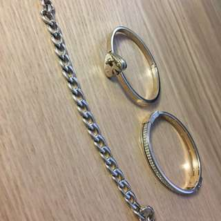 $20 Each - Fossil Gold Bracelet