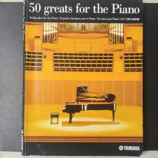 50 Greats for the Piano