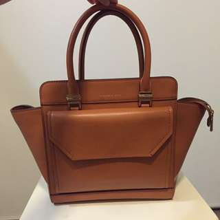 Charles and Keith Handbag in Tan