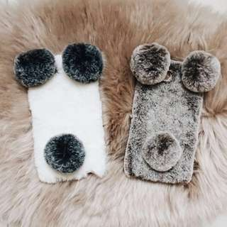 Fluffy Bear Iphone Case