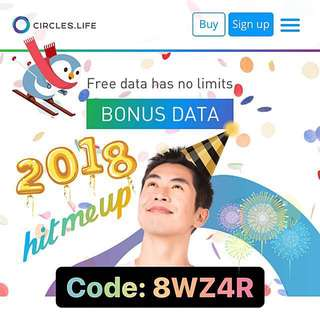 Circles.Life $20 + 2.5GB
