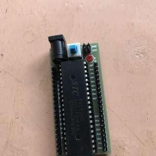 8051 8052 底板 連晶片