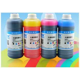 Inkjet Printer Refill Ink 500ml Bottle New
