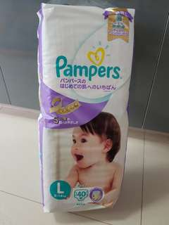 Pampers Tape Diapers L japan