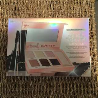 itcosmetics eyeshadow palette+mascara