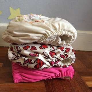 Cloth Diaper (3pcs)