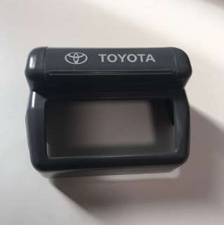 Toyota cashcard reader cover