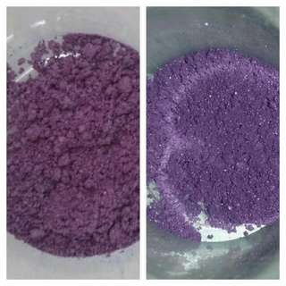 Purple Shimmer Vegan Mineral Pigment Eyeshadow (Approx 1/4 Gram Of Eye Shadow Pigment)