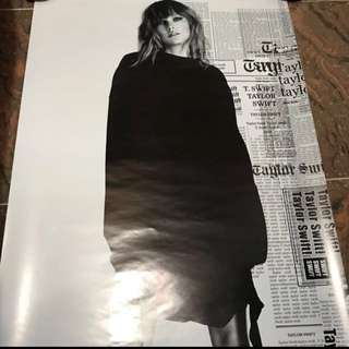 Taylor Swift Reputation poster