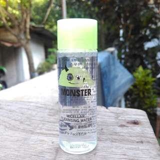Monster micellar water