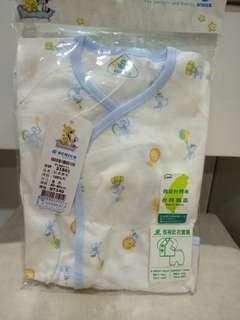全新嬰兒紗布衣套裝_50~60cm