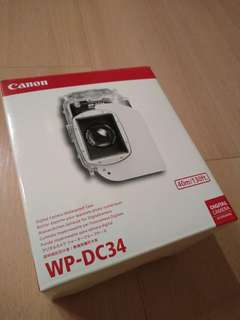 WP DC34 Underwater Housing for Canon - Brand new