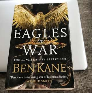 Sunday Times Bestseller, Eagles at War, historical fiction