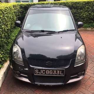 Suzuki swift sport 1.6M 2007