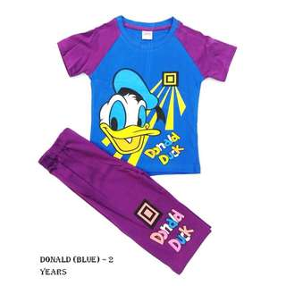 Boy Clothing Set - Donald Duck (2 years)