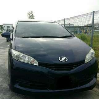 Sambung Bayar Toyota Wish 1.8cvt