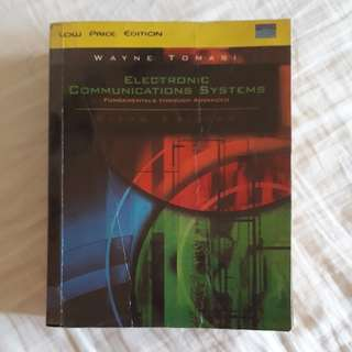 Electronic Communications Systems by Wayne Tomasi