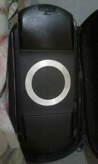 Psp fat 8gb with charger and pouch