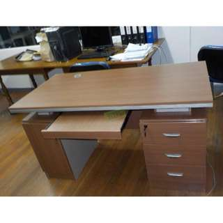 OFFICE TABLES WITH DRAWERS--KHOMI
