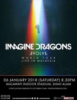 Imagine dragon live in msia