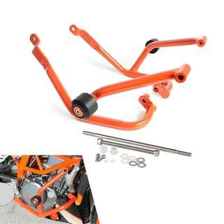 KTM 125 200 Duke Crash bars Engine guard protection frame sliders set