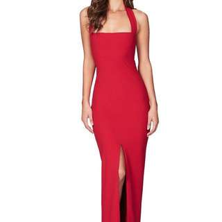 Nookie Red Boulevard Gown brand new size small RRP $250
