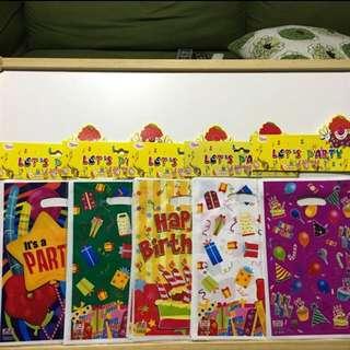 Babies Children Loot Bag Gift Goodies